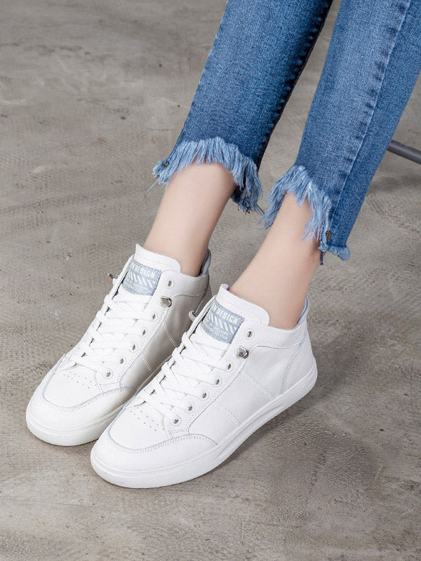 Casual Elasticity Flat Shoes