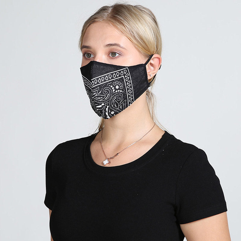 Five Pieces Fashion Anti-Dust Washable Protective Mask