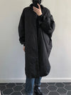 Loose Chic Long Wadded Jacket