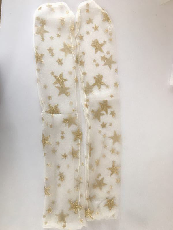 Gauze See-through Star Stocking