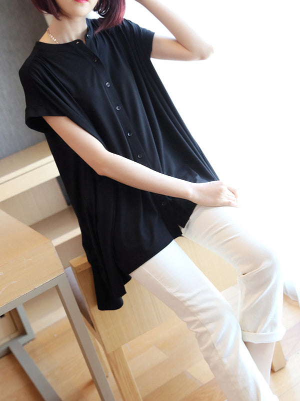 Casual Cropped Light Cool Shirts