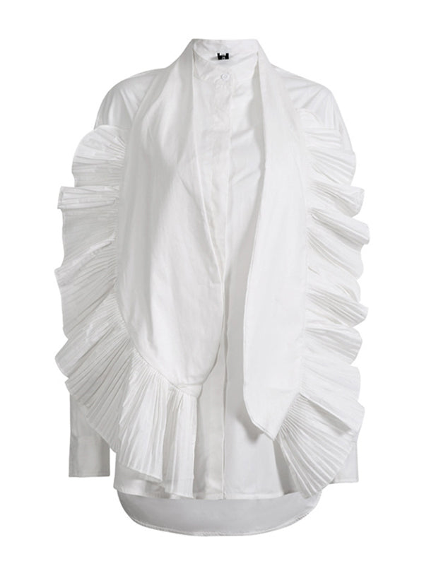 Original Pleated Stylish Minority Shirt