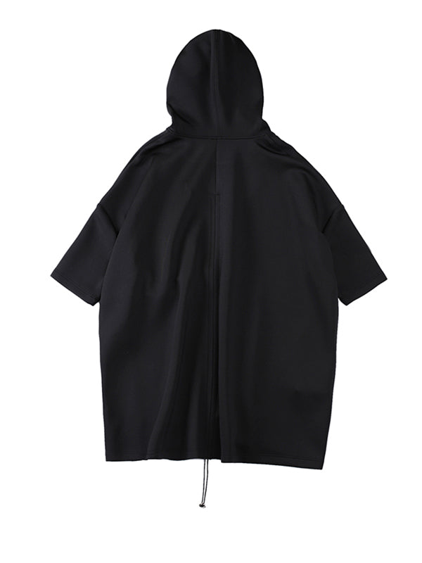 Original Cropped Anti-wrinkle Hoodie Outwear