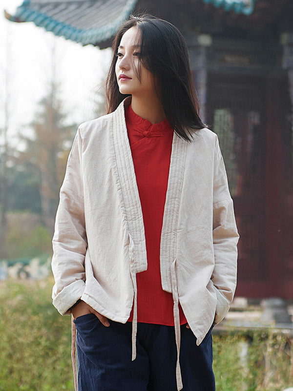 Retro Improved Short Hanfu Coat