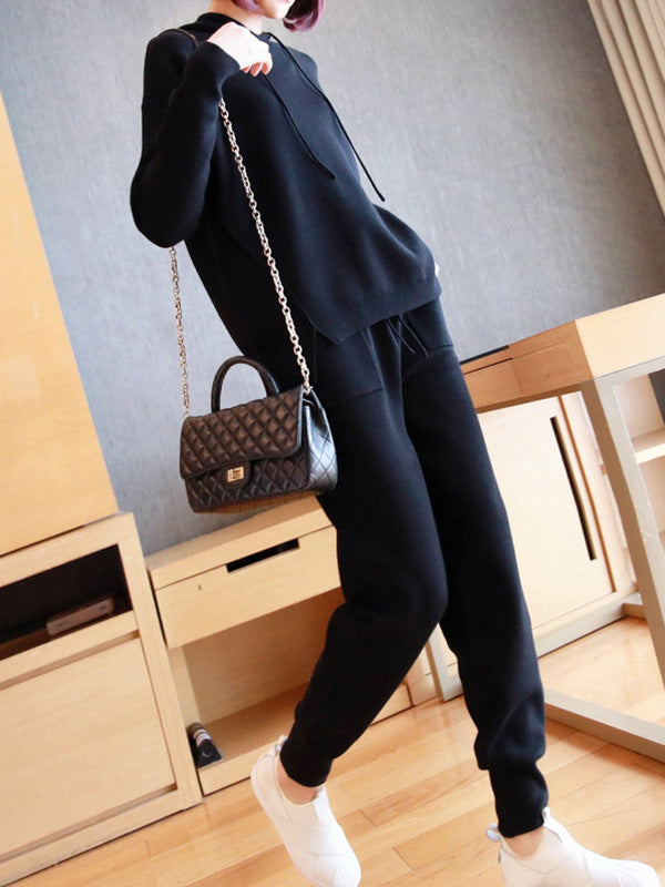Loose Knitting Comfortable Suits
