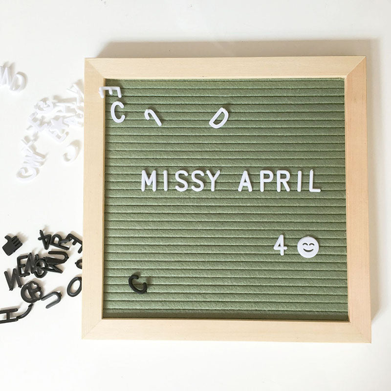 Letterboard Photo Frame Decoration