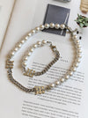 Chic Pearl Split-Joint Necklace&Bracelet Sets