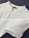 Vintage Solid Color Loose Button Bat Sleeve T-Shirt