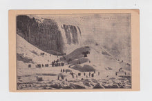 Load image into Gallery viewer, Early 1900s Undivided Back Frozen Solid Niagara Falls New York Postcard