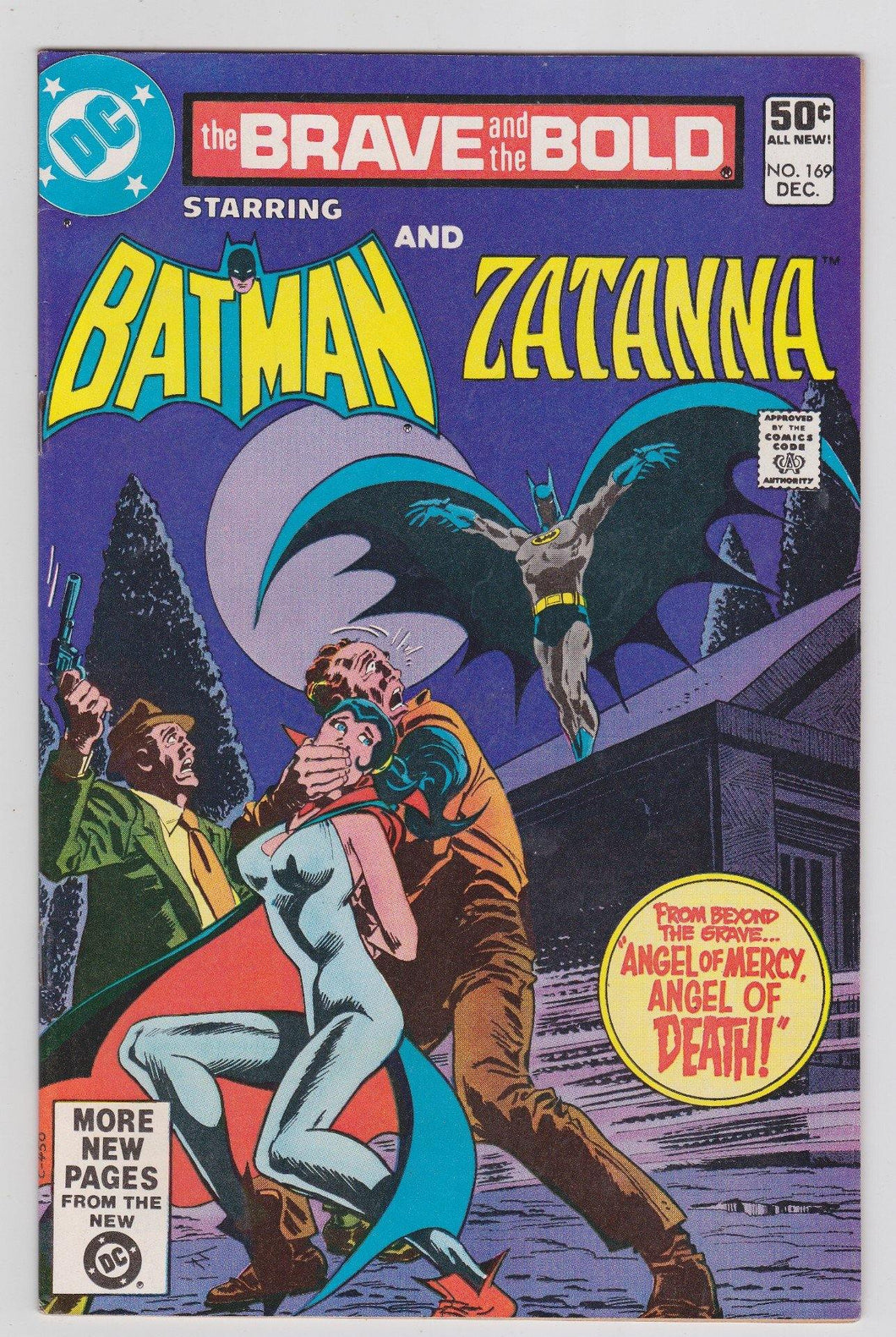 Brave and the Bold 169 with Batman and Zatanna DC Comics December 1980 - TulipStuff