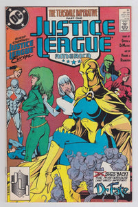 Justice League America no. 31 Oct 89 DC Comics