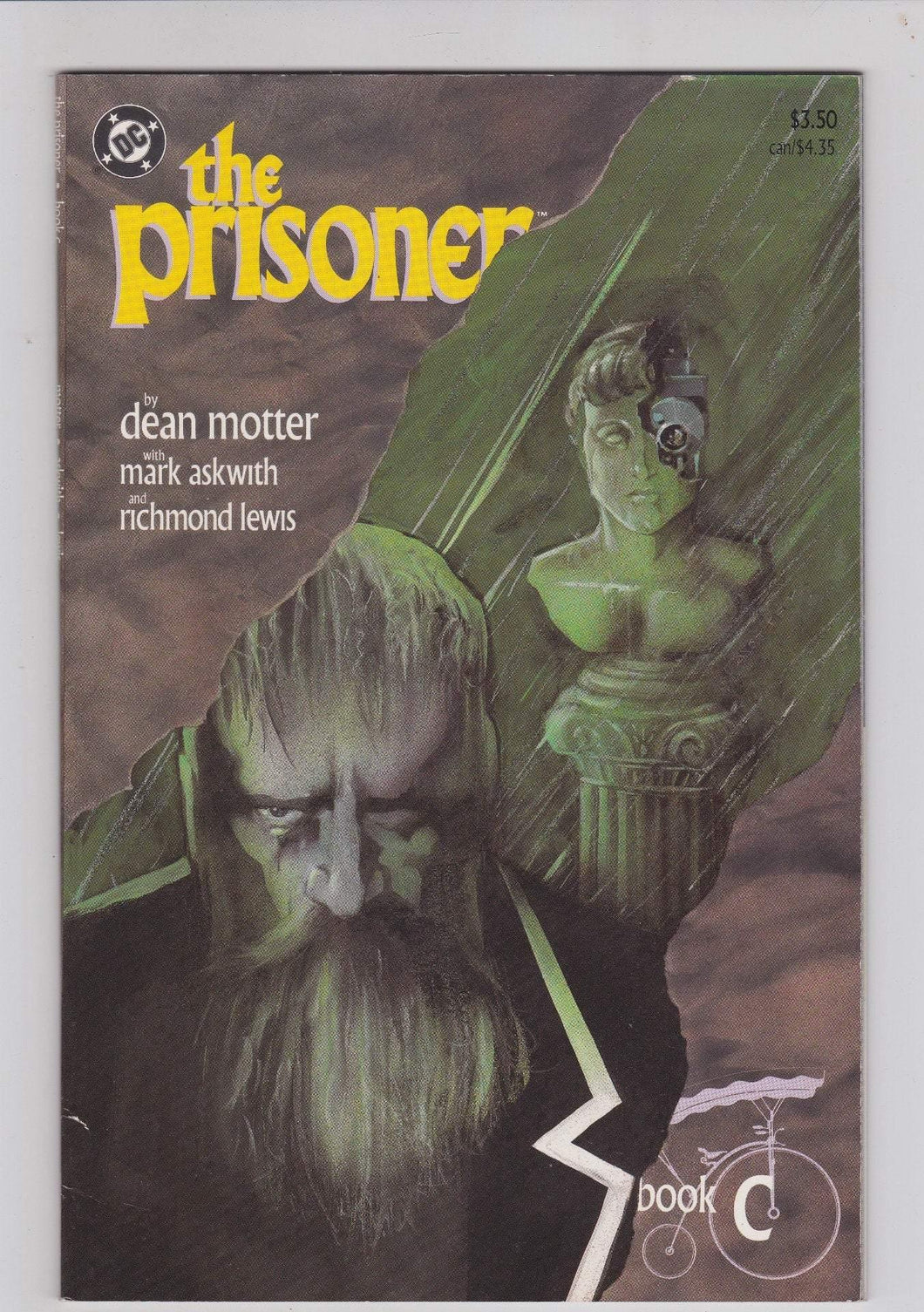 The Prisoner Book C Confrontation 1988 DC Comics