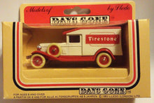 Load image into Gallery viewer, Lledo Days Gone DG18 Firestone 1936 Packard Van Diecast Model Made in England