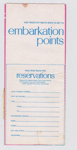 1971 C&O Cross Lake Michigan Autoferry Service Schedule Brochure Spartan Badger City of Midland - TulipStuff