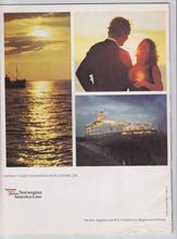 Load image into Gallery viewer, Norwegian America Line Cruise Ship M.S. Sagafjord European Cruises 1978 Brochure
