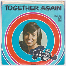 "Load image into Gallery viewer, Bobby Sherman Together Again b/w Picture A Little Girl 7"" 45rpm Vinyl Record 1972 - TulipStuff"