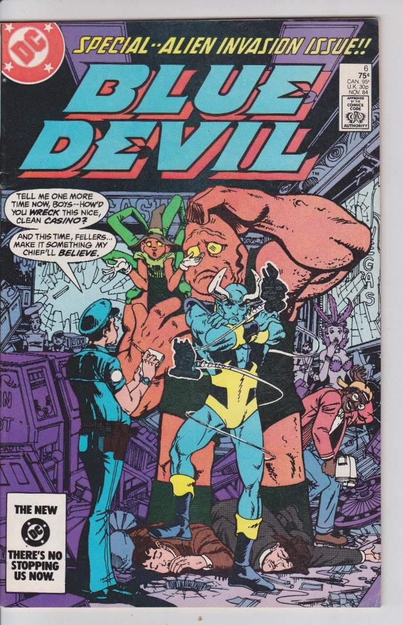 Blue Devil 6 DC Comics Nov 84
