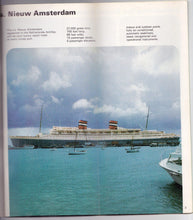 Load image into Gallery viewer, Holland America ss Nieuw Amsterdam 1972-73 West Indies Cruises Brochure