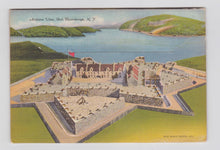 Load image into Gallery viewer, Fort Ticonderoga New York Linen Postcard Booklet 16 Views 1940's