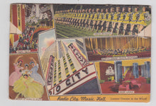 Load image into Gallery viewer, Greetings From Rockefeller Center New York City 1940's Linen Postcard Booklet 18 Views - TulipStuff