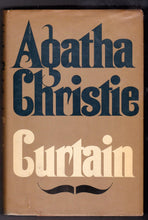 Load image into Gallery viewer, Agatha Christie Curtain Hardcover Hercule Poirot Mystery Novel 1975 - TulipStuff