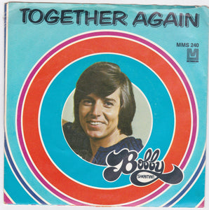 "Bobby Sherman Together Again b/w Picture A Little Girl 7"" 45rpm Vinyl Record 1972"