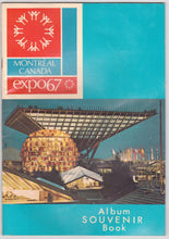 Load image into Gallery viewer, Montreal Canada Expo 67 Album Souvenir Book 1967 - TulipStuff
