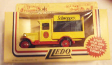 Load image into Gallery viewer, Lledo Models of Days Done DG26 Schweppes 1934 Chevrolet Bottle Delivery Truck Made in England 1987