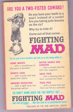 Load image into Gallery viewer, Fighting Mad Vintage Humor Paperback Book From Mad Magazine 1961 - TulipStuff