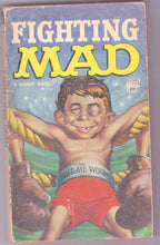 Load image into Gallery viewer, Fighting Mad Vintage Humor Paperback Book From Mad Magazine 1961