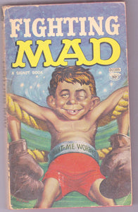 Fighting Mad Vintage Humor Paperback Book From Mad Magazine 1961