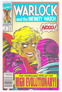 Warlock and the Infinity Watch #3 April 1992 Marvel Comics