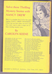 Nancy Drew Mystery Stories 41 The Clue of the Whistling Bagpipes 1964