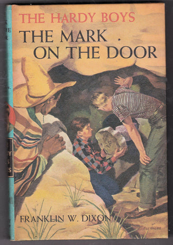 The Hardy Boys The Mark On The Door no 13 Franklin W Dixon 1971 Hardcover - TulipStuff