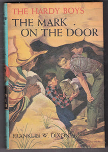 The Hardy Boys The Mark On The Door no 13 Franklin W Dixon 1971 Hardcover