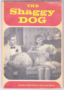 The Shaggy Dog Adapted By Elizabeth L Griffen From The Walt Disney Movie 1974 Paperback - TulipStuff