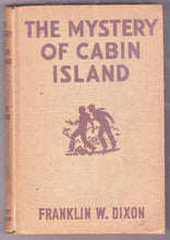 Load image into Gallery viewer, The Hardy Boys Mystery Stories The Mystery Of Cabin Island Franklin W Dixon 1950's Hardcover