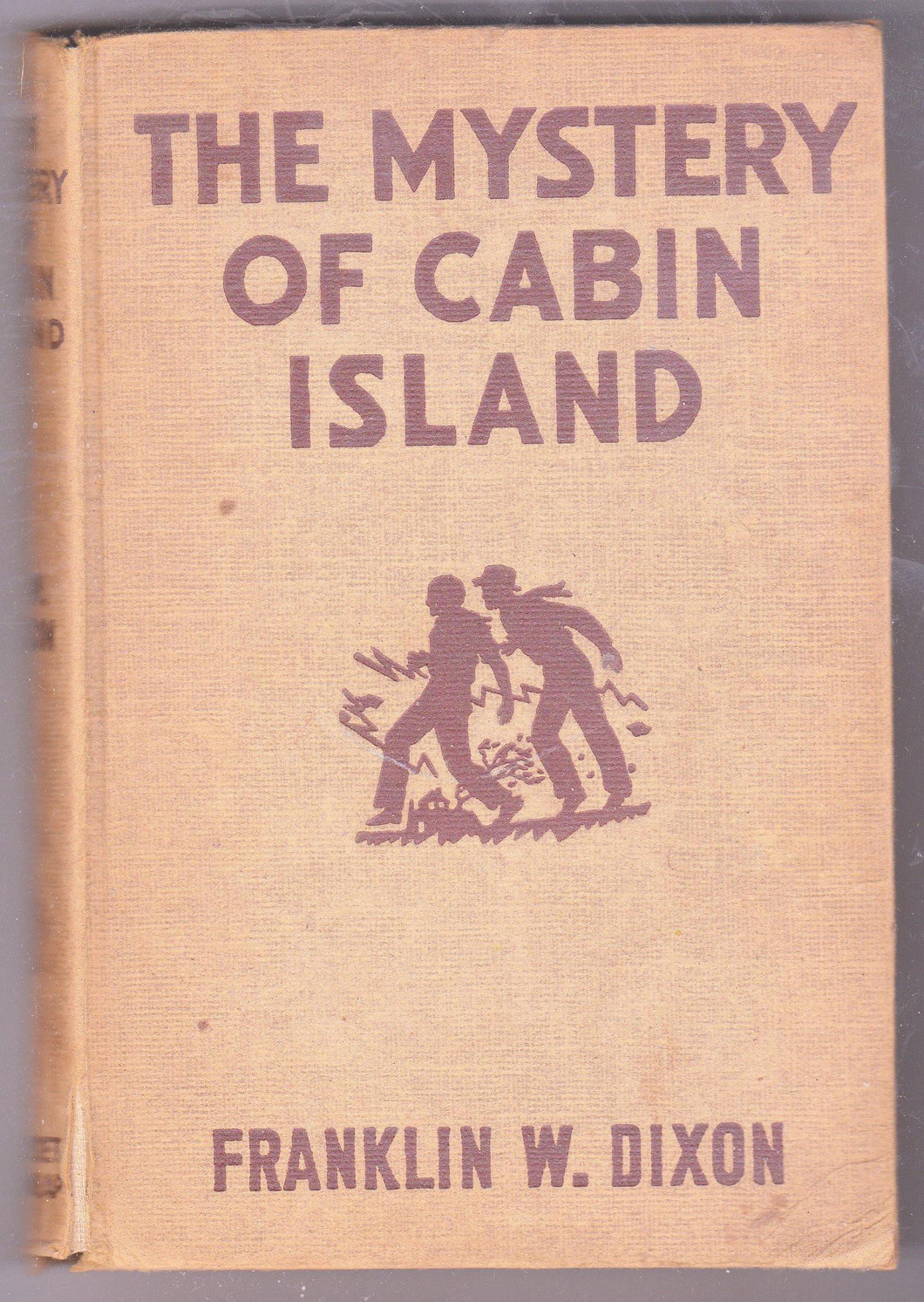 The Hardy Boys Mystery Stories The Mystery Of Cabin Island Franklin W Dixon 1950's Hardcover