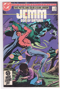Jemm Son of Saturn Issue 7 March 1985 DC Comics