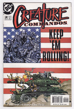 Load image into Gallery viewer, Creature Commandos issue no 2 June 2000 DC Comics