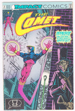 Load image into Gallery viewer, The Comet Issue #2 August 1991 Impact Comics Comic Book - TulipStuff