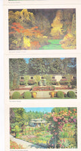 Load image into Gallery viewer, Butchart Gardens 1950's 16 View Souvenir Postcard Folder Victoria British Columbia Canada