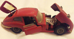 Corgi Toys 335 Jaguar E-Type 2+2 Diecast Great Britain 1968