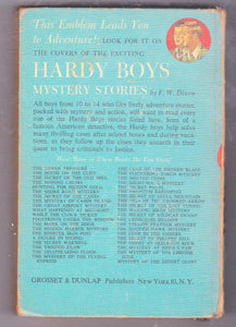 The Hardy Boys Mystery Stories #16 A Figure In Hiding Franklin W Dixon 1960's Hardcover - TulipStuff