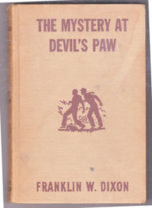 The Hardy Boys Mystery Stories The Mystery at Devil's Paw Franklin W Dixon 1959 Hardcover