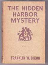Load image into Gallery viewer, The Hardy Boys Mystery Stories The Hidden Harbor Mystery Franklin W Dixon 1935 Hardcover - TulipStuff
