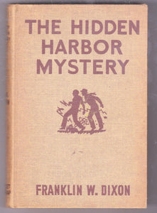 The Hardy Boys Mystery Stories The Hidden Harbor Mystery Franklin W Dixon 1935 Hardcover - TulipStuff