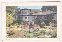 Load image into Gallery viewer, Butchart Gardens 1950's 16 View Souvenir Postcard Folder Victoria British Columbia Canada - TulipStuff