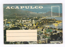 Load image into Gallery viewer, Acapulco Tierra Amiga 16 View Souvenir Postcard Folder Mexico 1960's