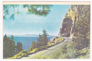Beautiful Lake Tahoe 1950's Souvenir Postcard Folder - TulipStuff